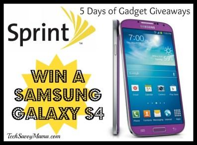 Sprint Samsung Galaxy S4 Giveaway I TechSavvyMama.com