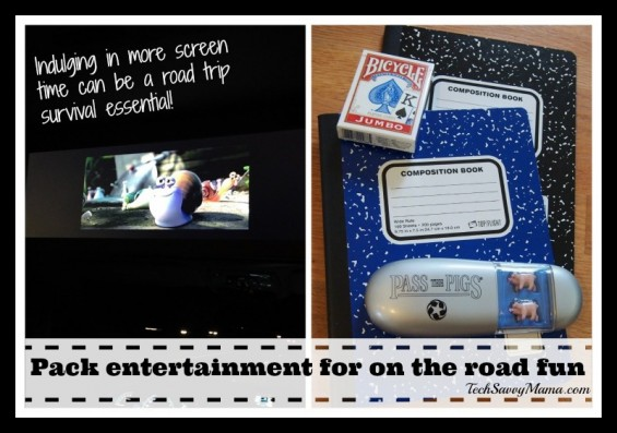 Family Travel Essentials Entertainment