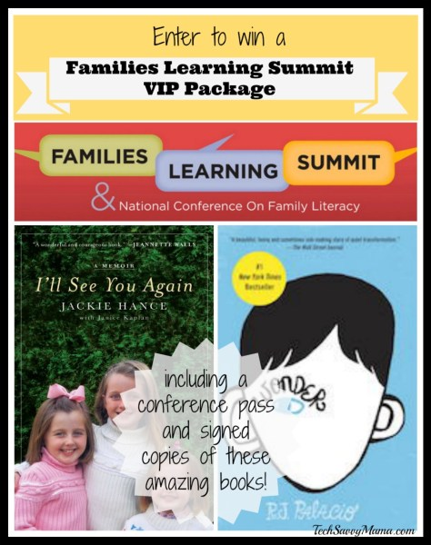 The National Center for Families Learning Family Learning Summit Giveaway