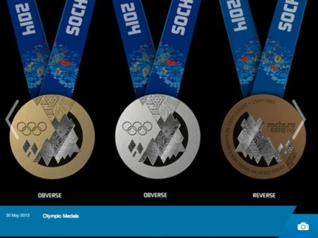 Sochi 2014 Winter Olympics Medals