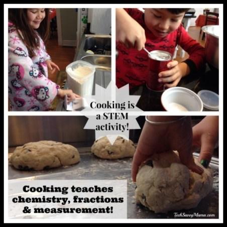 Cooking is a STEM Activity I TechSavvyMama.com