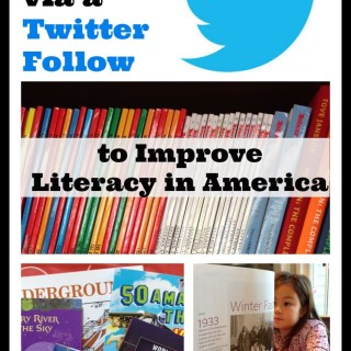 Donate $1 via a Twitter Follow to Improve Literacy in America and Support the National Center for Families Learning