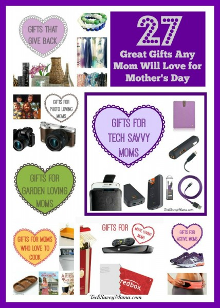 27 Great Gifts Any Mom Will Love for Mother's Day- TechSavvyMama.com