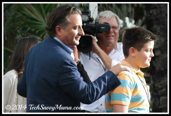Andy Garcia at Rio 2 world premiere, Miami
