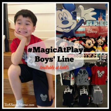 Disney #MagicAtPlay at Kohl's Boys' Line