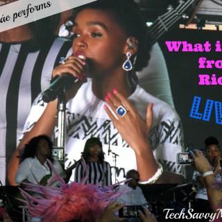 "Janelle Monáe Performs #Rio2 ""What is Love"" Live & My Sounds of Brazil Spotify Playlist"