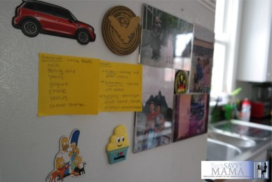 Post-it Notes Serve as a Visual Reminder Around the Home