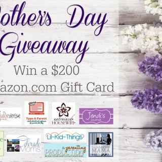 Mother's Day $200 Amazon GC Giveaway!