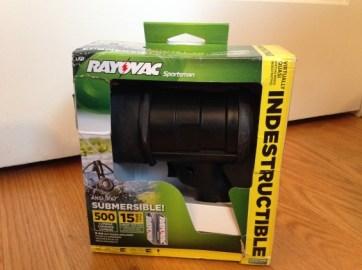 Rayovac Virtually Indestructible LED 6AA Spotlight