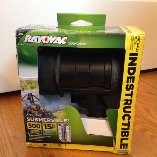Review: Rayovac Virtually Indestructible LED Spotlight for Everyday & Outdoor Adventures