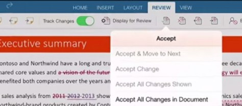 Microsoft Office Word App