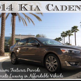 2014 Kia Cadenza: Premium Features Provide Ultimate Luxury in Affordable Vehicle