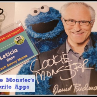 Cookie Monster's Favorite Apps #PBSKids