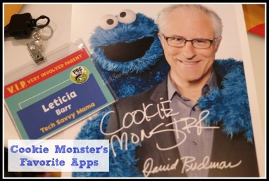 Cookie Monster's Favorite Apps