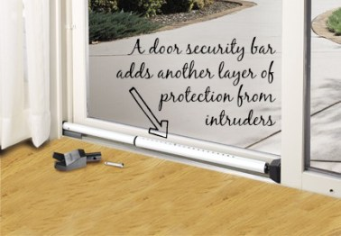 Door protection bar provides additional protection