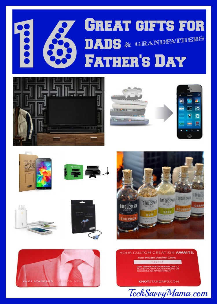 16 Great Father\'s Day Gifts for Dad & Grandfathers - Tech Savvy Mama