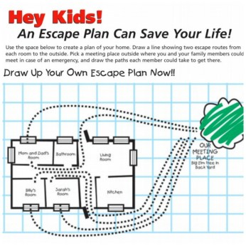 Kidde Escape Plan Worksheet