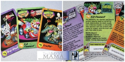 Monster 500 Trading Cards
