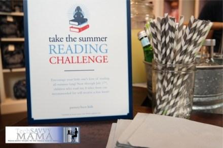 Pottery Barn Kids Summer Reading Challenge