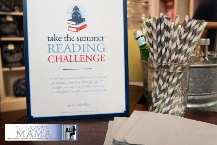 Pottery Barn Kids Summer Reading Challenge