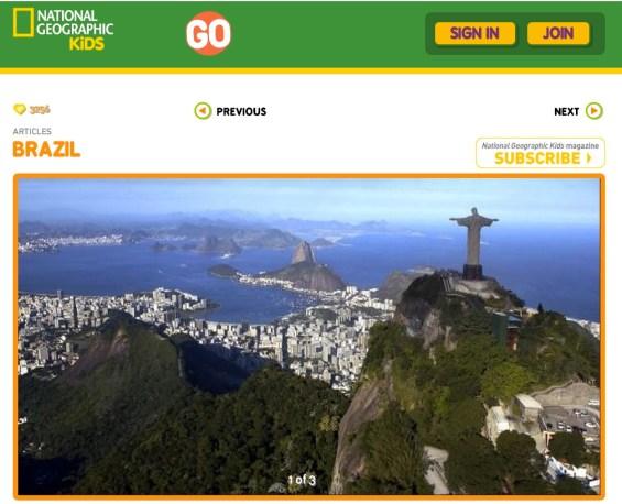 National Geographic Kids: Brazil