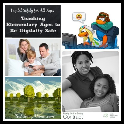 Teaching Elementary Ages to Be Digitally Safe