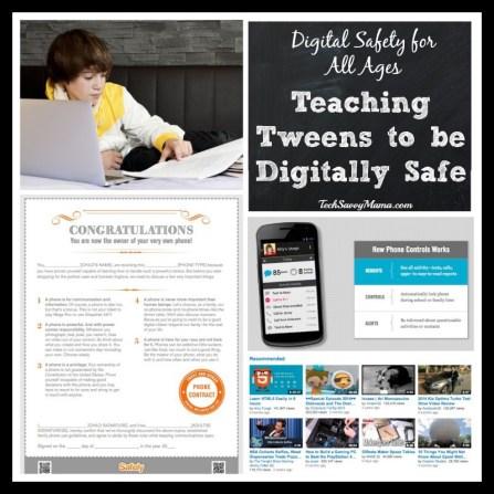 Teaching Tweens to Be Digitally Safe