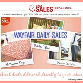 Wayfair Daily Sales: Deep Discounts Delivered Directly to Your Inbox