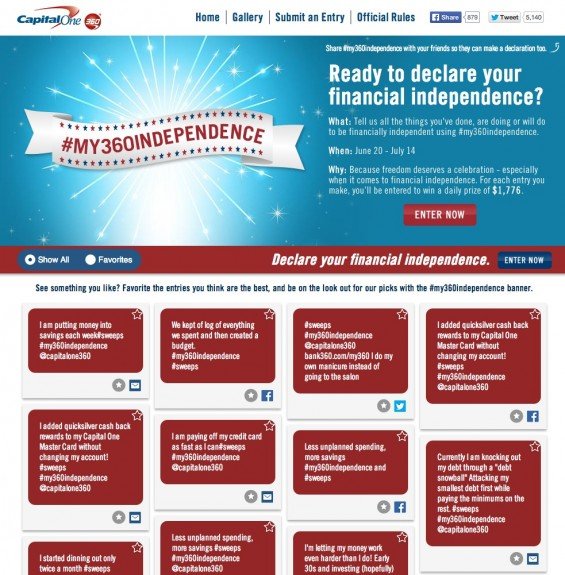 Capital One 360 #My360Independence