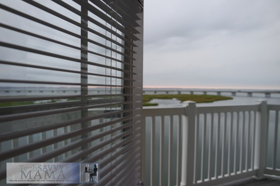 Comfort Suites Chincoteague Balcony ©TechSavvyMama.com 2014