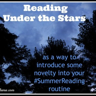 Maintaining #SummerReading Momentum by Reading Under the Stars