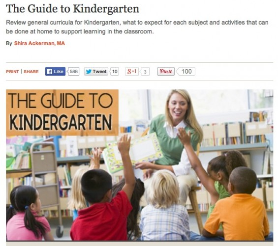 Scholastic.com's The PreK-8th Grade Guide