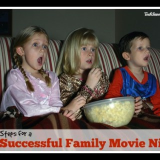5 Steps for a Successful Family Movie Night