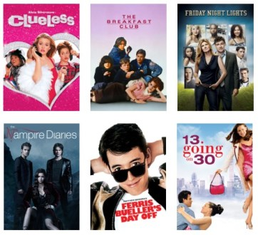 Movies for Teens to Stream from Netflix