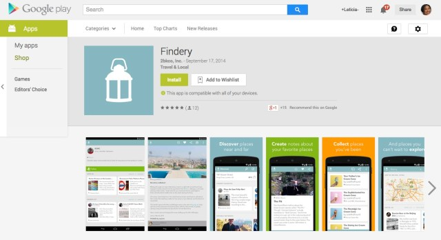 Findery for Android