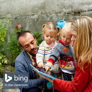 Bing in the Classroom- search and earn free Surface Tablets for your child's school