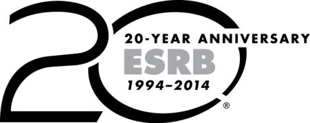 ESRB 20th Anniversary Logo