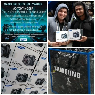Samsung's #DitchtheDSLR Goes Hollywood with a Star Studded Event 10/14 and Why You Need to Ditch Your DSLR!