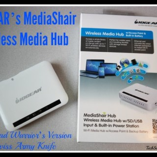 IOGEAR's MediaShair Wireless Media Hub Review: Road Warrior's Version of a Swiss Army Knife (w. giveaway)