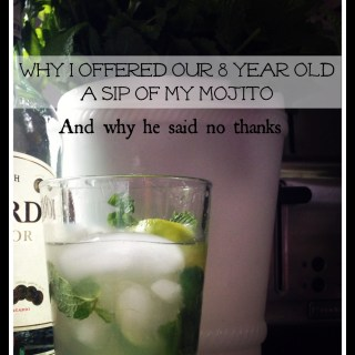 What Do You Do When Your Kids Ask for a Sip of Your Drink? #TalkEarly