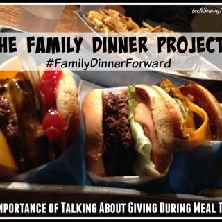 Family Dinner Project: The Importance of Talking About Giving During Meal Times
