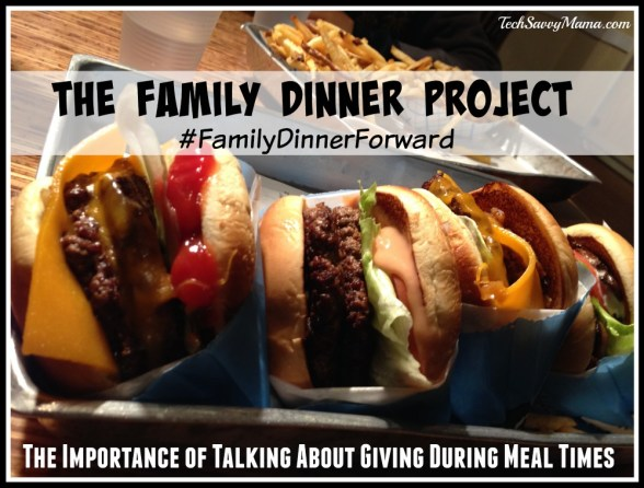 Family Dinner Project- The Importance of Talking About Giving During Meal Times