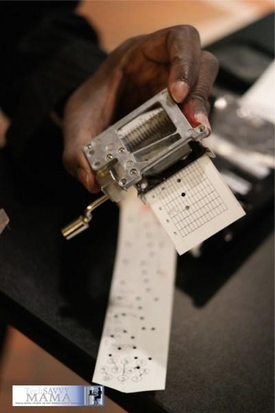 George Korir Punch Card Programmable Microfluidics #CICExpo