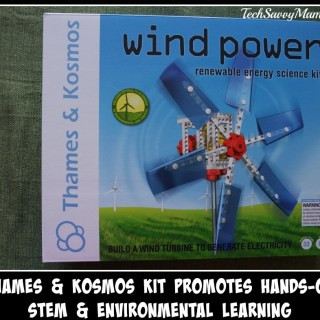 Wind Power Renewable Energy Science Kit from Thames & Kosmos Promotes Hands-On STEM & Environmental Learning