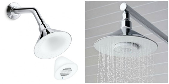 2014 Gift Guide Gifts for Dad- Moxie Showerhead by Kohler