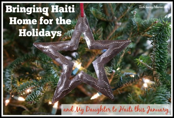 Bringing Haiti Home for the Holidays & My Daughter to Haiti this January