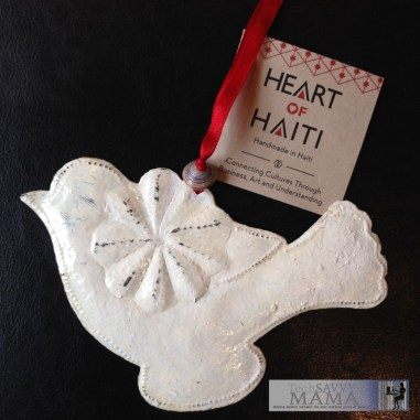 Macy's Heart of Haiti Dove Ornament
