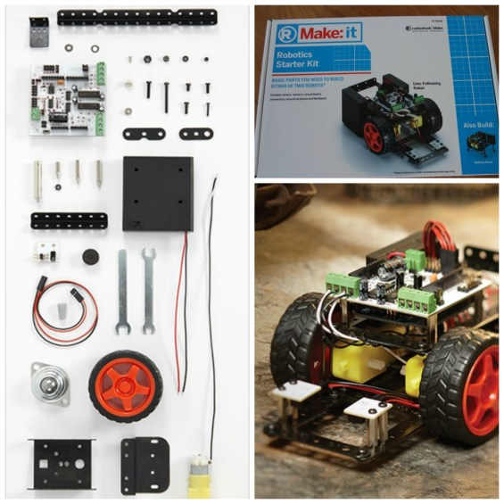 Make it Robotics Starter Kit at Radio Shack