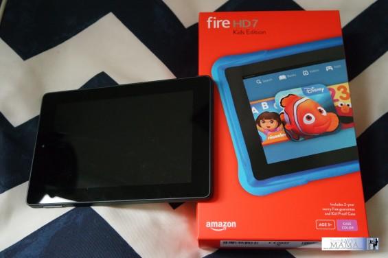 Amazon's Fire HD Kids Edition.