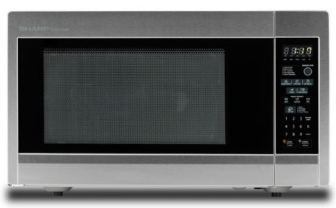 Nine Essentials for Holiday Entertaining from HH Gregg: Sharp Stainless Steel Countertop Microwave Oven